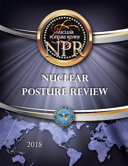 Nuclear Posture Review cover page