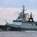 Sailor fell overboard from Russian corvette in Baltic Sea