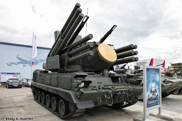 Russian air defense weapons