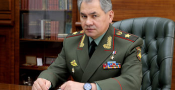 Sergey Shoigu nuances public image with art exhibition